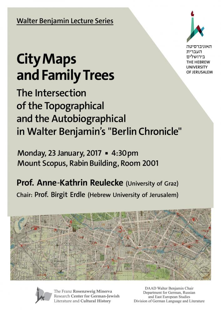 Reulke Lecture - poster